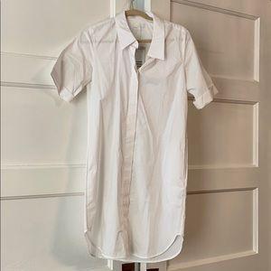 NWT Cos White Shirtdress Size 4